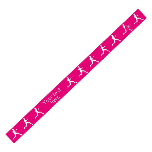 Custom Running Pink Sweaty Bands Non Slip Headband
