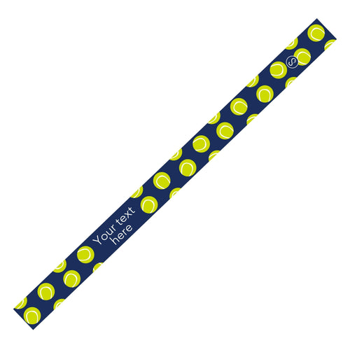 Custom Tennis Navy Sweaty Bands Non Slip Headband