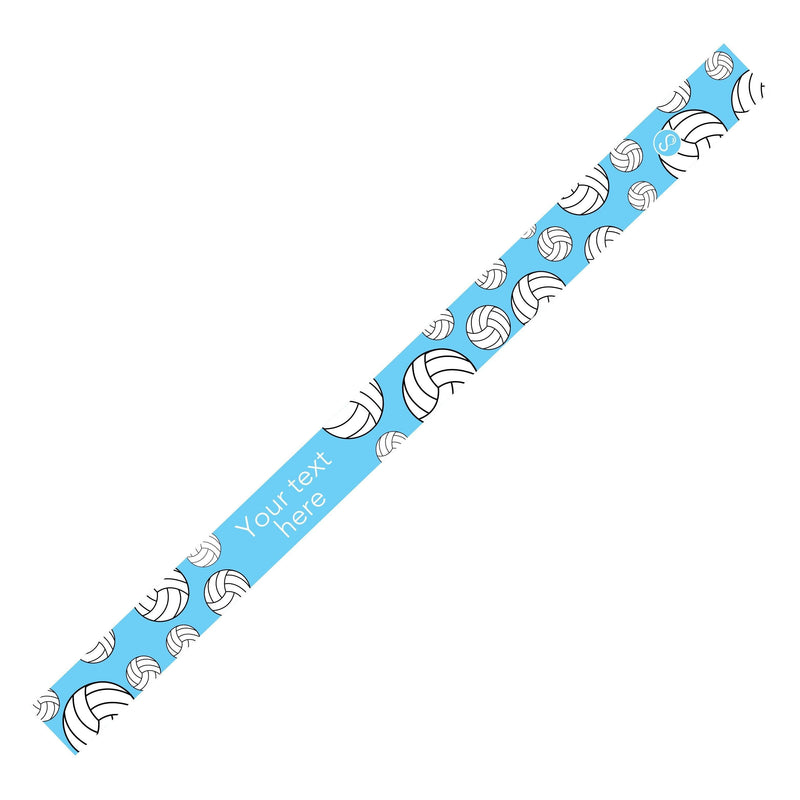 Custom Volleyball Light Blue Sweaty Bands Non Slip Headband