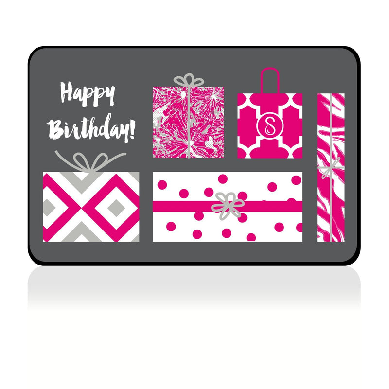 eGift Card | Happy Birthday! | Pink Sweaty Bands