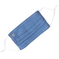 Face Mask | Chambray Pleat | Light Blue Sweaty Bands Non Slip Headband
