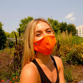 Face Mask | First | Orange Sweaty Bands Non Slip Headband