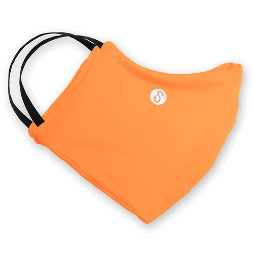Face Mask | Orange | Regular Sweaty Bands Non Slip Headband