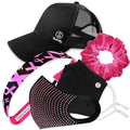 Gift Pack | Beat Breast Cancer includes Sweaty Baseball Hat Sweaty Bands Non Slip Headband