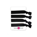 Gift Pack Paparazzi Black, Rock Solid Black Sweaty Bands Non Slip Headband