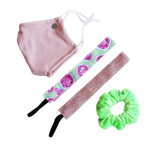 Gift Pack | Watermelon Sugar Sweaty Bands Non Slip Headband