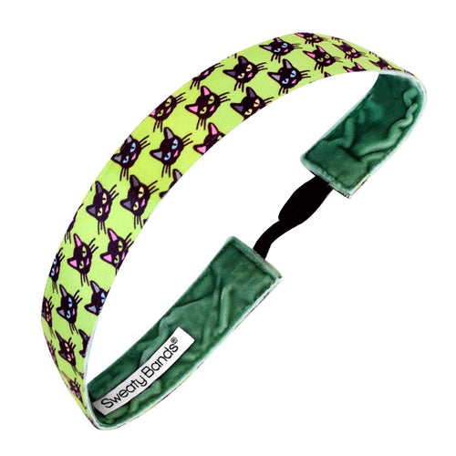 Halloween | On The Prowl | Lime, Multi | 1 Inch Sweaty Bands