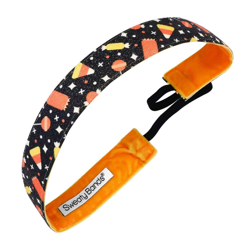 Halloween | Trick Or Treat | Black, Multi | 1 Inch Sweaty Bands