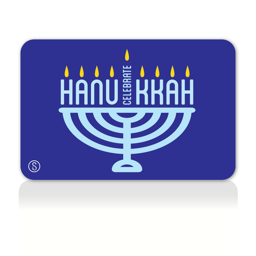 Happy Hanukkah Gift Card Sweaty Bands Non Slip Headband