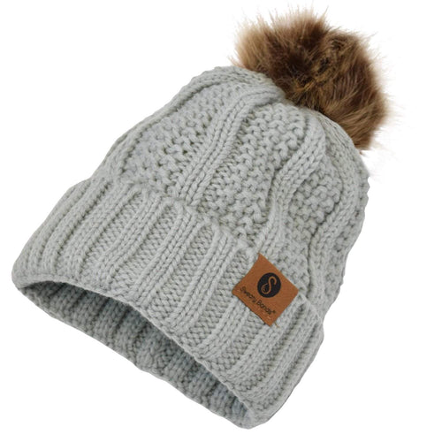 Hats | PomPom | Light Grey Sweaty Bands
