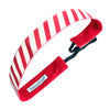 Holiday | Candy Cane | Shimmer | Red, White | 1 Inch