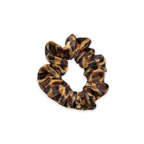 Mini Scrunchie | Get Wild | Brown, Tan Sweaty Bands Non Slip Headband