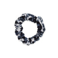 Mini Scrunchie | Leopard | Black White Sweaty Bands Non Slip Headband