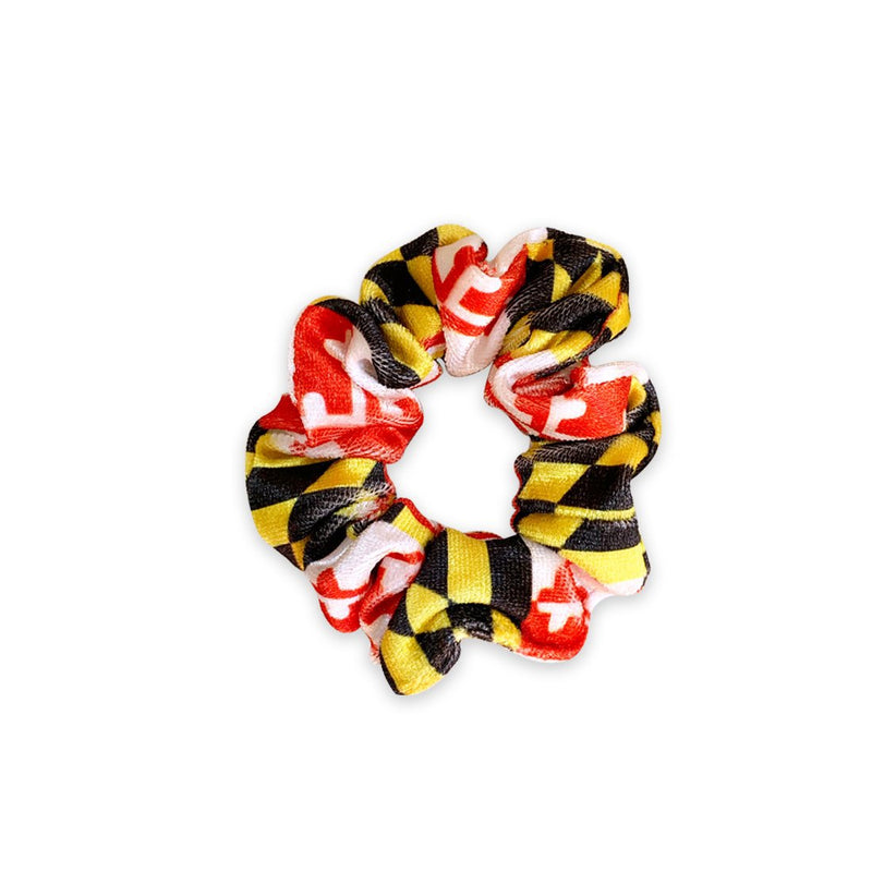 Mini Scrunchie | Maryland Flag Sweaty Bands Non Slip Headband