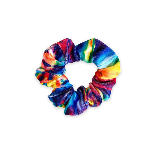 Mini Scrunchie | Rainbow Swirl Sweaty Bands Non Slip Headband