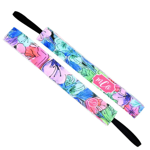 Monogram | Florabora | Multi | 1 Inch Sweaty Bands