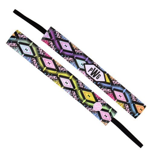 Monogram Gypsy Girl Multi Sweaty Bands Non Slip Headband