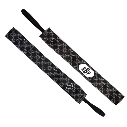Monogram Luna Black Sweaty Bands Non Slip Headband