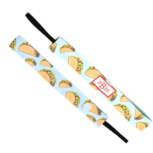 Monogram Taco Bout It Sweaty Bands Non Slip Headband