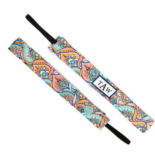 Monogram Weekender Mint Sweaty Bands Non Slip Headband