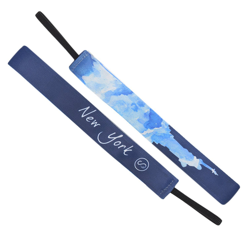 New York City Navy Sweaty Bands Non Slip Headband