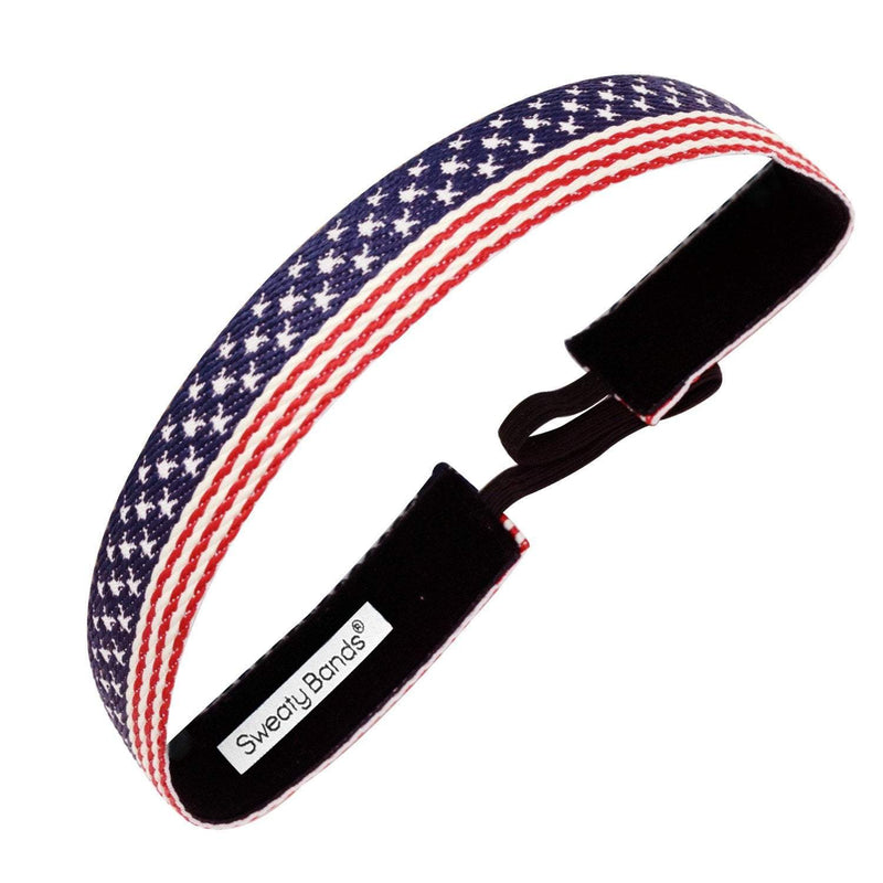 Old Glory | Red, White, Blue | 1 Inch Sweaty Bands