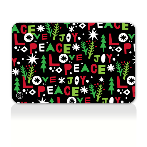 Peace Love Joy Gift Card Sweaty Bands Non Slip Headband
