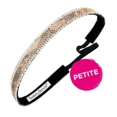 Petite | Bling It | All Glowed Up | Gold | 5/8 Inch Sweaty Bands