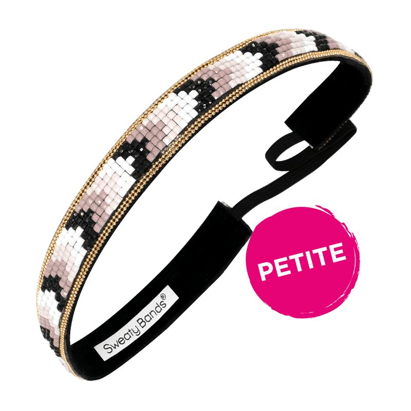 Petite | Bling It | Beaded Chevron | Multi | 5/8 Inch Sweaty Bands