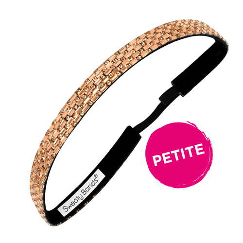 Petite | Bling It | Bronzed Goddess | Bronze | 5/8 Inch Sweaty Bands