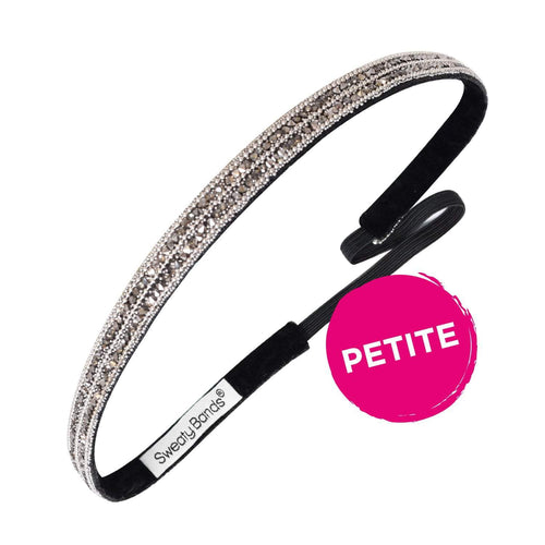 Petite Bling It Crystal Baller Sweaty Bands Non Slip Headband