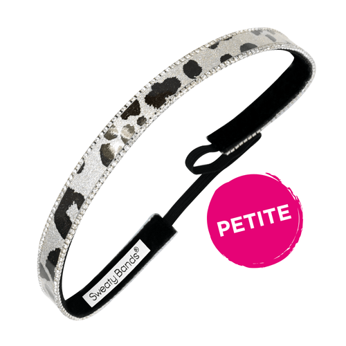 Petite | Bling It | Let's Mooove | Black | 5/8 Inch Sweaty Bands