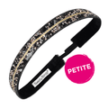 Petite Bling It One in a Million, Black Sweaty Bands Non Slip Headband