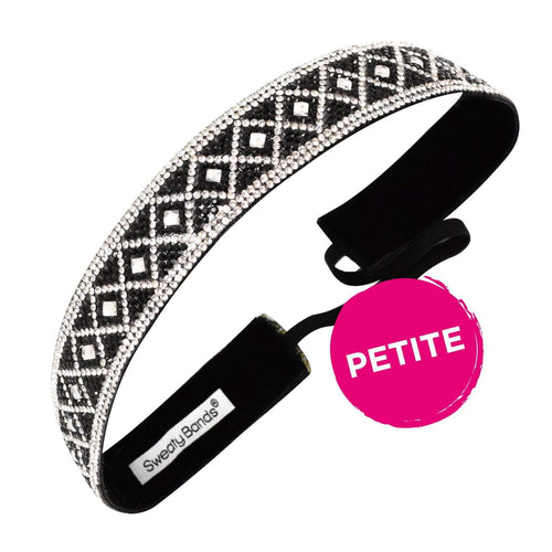 Petite Bling It Queening Sweaty Bands Non Slip Headband