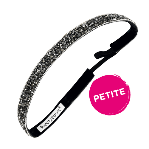 Petite | Bling It | Shine On | Gunmetal | 5/8 Inch Sweaty Bands
