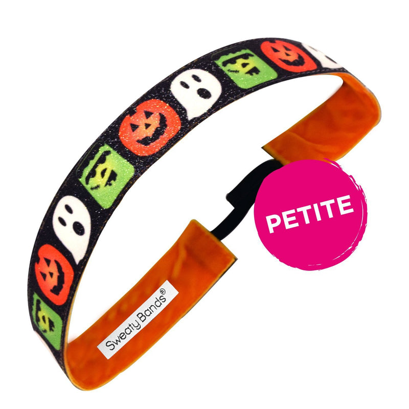 Petite | Halloween | Ghouls Just Wanna Have Fun | Black, Multi | 1 Inch Sweaty Bands