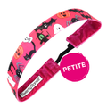 Petite | Halloween | Witching Hour | Pink, Multi | 1 Inch Sweaty Bands