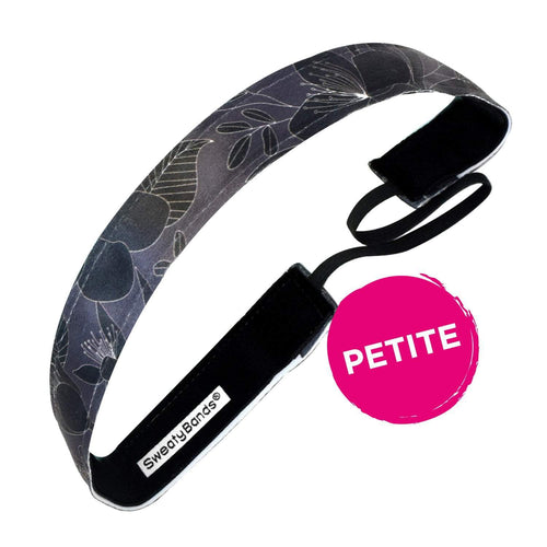 Petite | Perennial | Black | 1 Inch Sweaty Bands