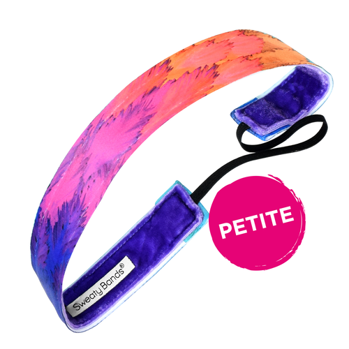Petite Toucan Play at that Game Purple Multi Sweaty Bands Non Slip Headband