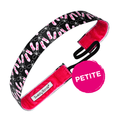 Petite | Twinkle Toes | Black, Pink | 1 Inch Sweaty Bands