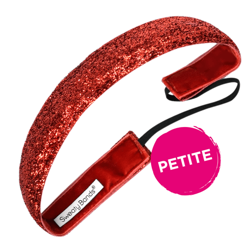 Petite | Viva Diva | Red | 1 Inch Sweaty Bands
