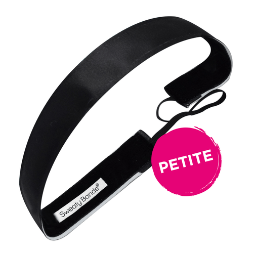 Petite | Wicked | Black | 1 Inch Sweaty Bands