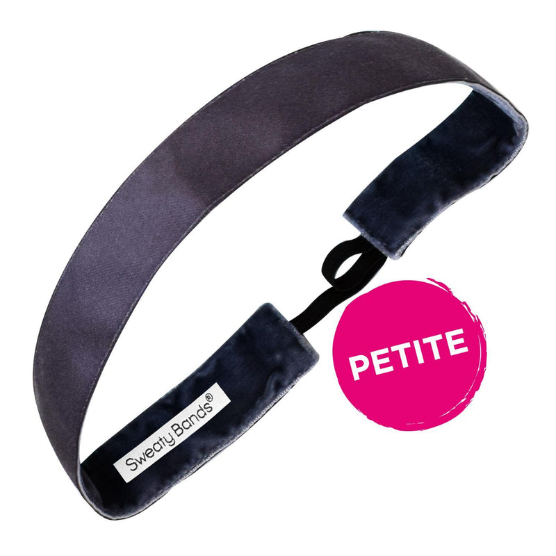 Petite | Wicked | Gunmetal | 1 Inch Sweaty Bands