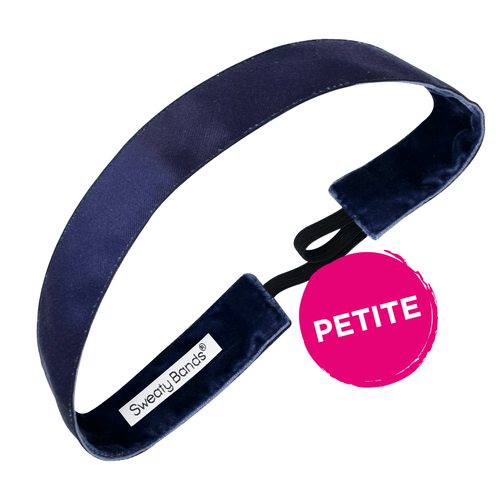 Petite | Wicked | Navy | 1 Inch Sweaty Bands