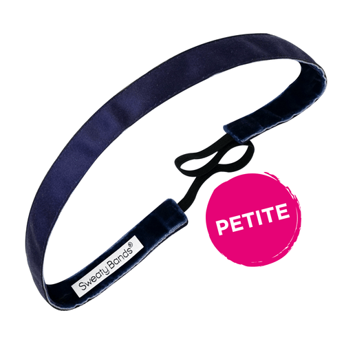 Petite | Wicked | Navy | 5/8 Inch Sweaty Bands