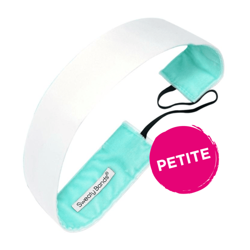 Petite | Wicked | White | 1.5 Inch Sweaty Bands