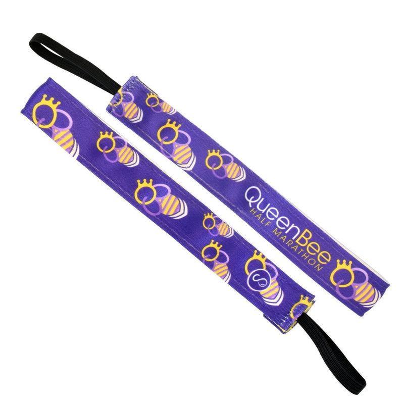 Queen Bee | Purple | 1 Inch Sweaty Bands
