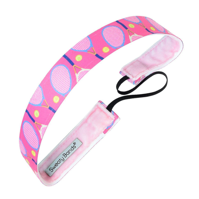Queen of the Court Pink Sweaty Bands Non Slip Headband