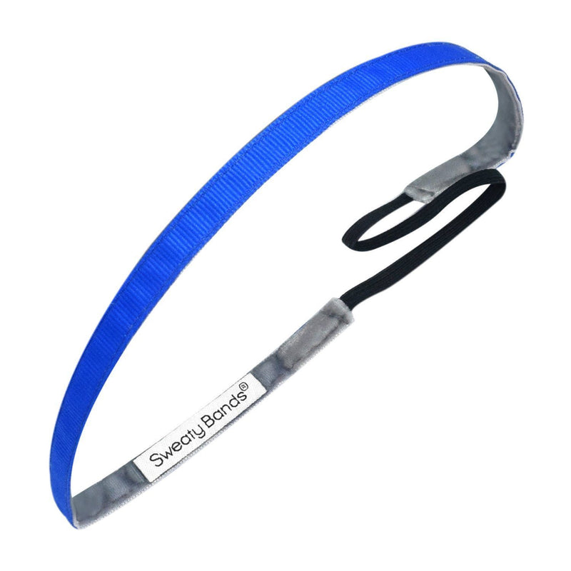 Rock Solid Neon Royal Sweaty Bands Non Slip Headband