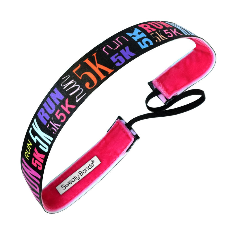 Run 5K Multi Sweaty Bands Non Slip Headband